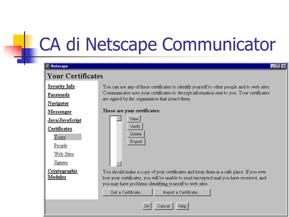 CA di MS Outlook