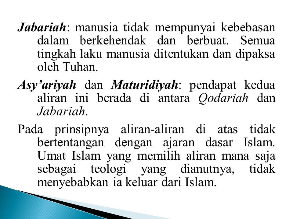  Tuhan dalam konsep Alquran adalah Allah ( Q.S.