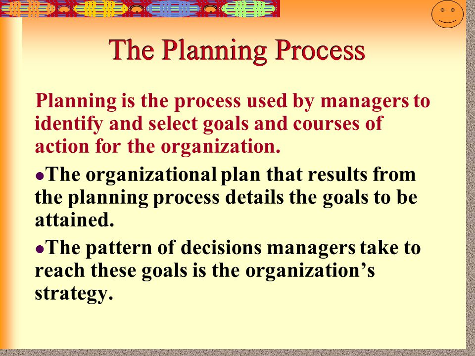 7-15 Characteristics of Plans Time horizon: refers to how far in the future the plan applies.
