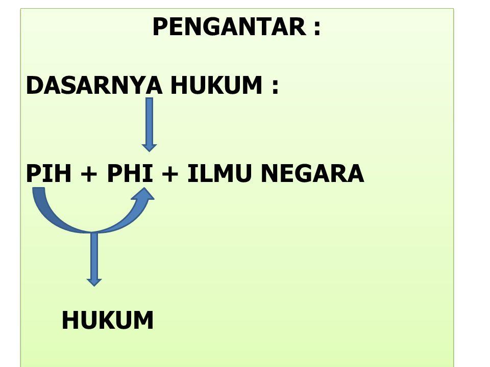 B.TIDAK TERTULIS 1.HUKUM ADAT 2,CONVENTION / KONVENSI/KEBIASAAN KETATANEGARAAN