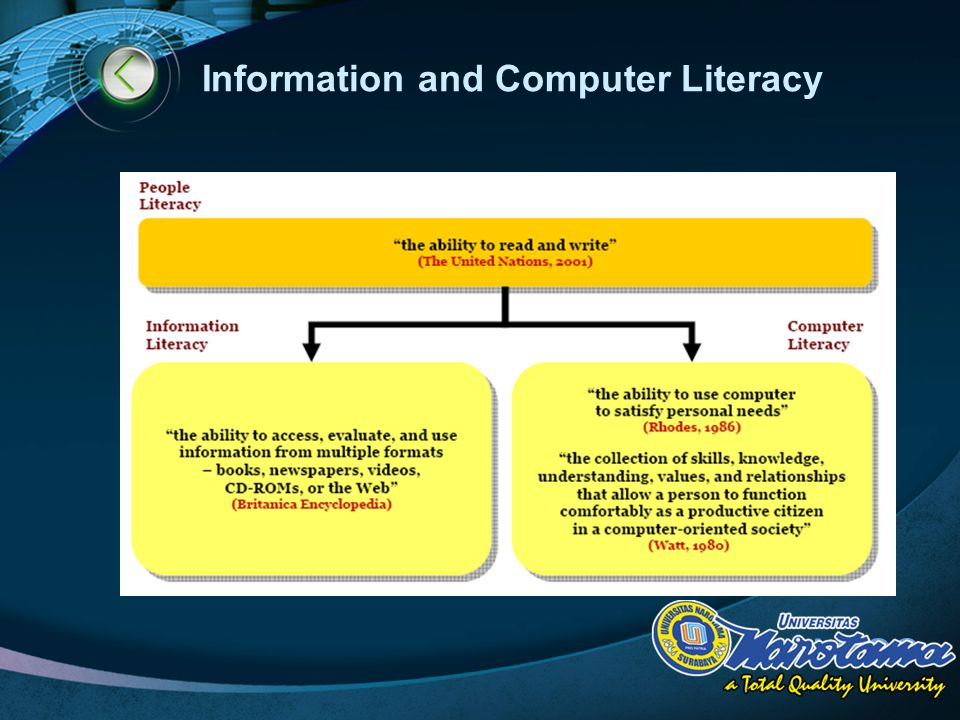 LOGO Information and Computer Literacy