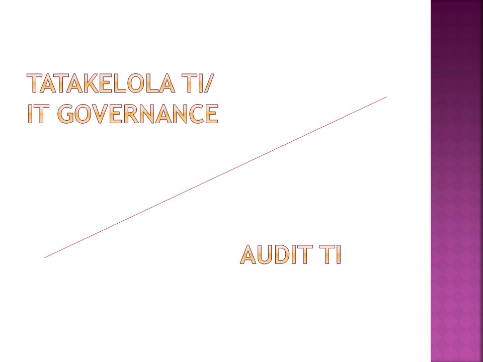  IT Governance is the responsibility of the Board of Directors and executive management, it is an integral part of enterprise governance and consist of the leadership and organizational structures and processes that ensure that the organization's IT sustains and extends the organization's strategy and objectives.