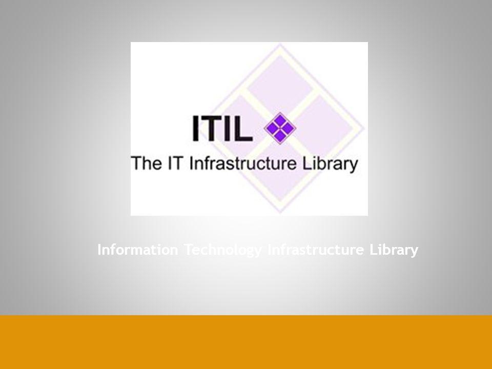  ITIL adalah sebuah framework yang mulai dikembangkan sejak tahun 1980 oleh pemerintahan Inggris, untuk kebutuhan mereka sendiri  Dalam beberapa tahun terakhir ini telah diadopsi secara luas, dan internasional  Dapat dikatakan kerangka manajemen yang paling banyak digunakan IT