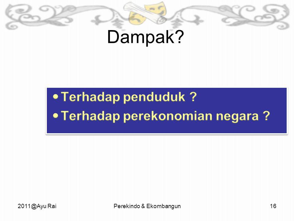 Dampak 2011@Ayu RaiPerekindo & Ekombangun16