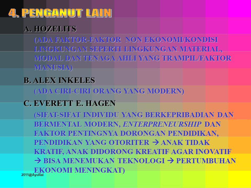 BENTUK-BENTUK KETERGANTUNGAN DUNIA KETIGA MOTTO IMPERIALISME 1.GOD 2.GOLD 3.GLORY 2011@AyuRai