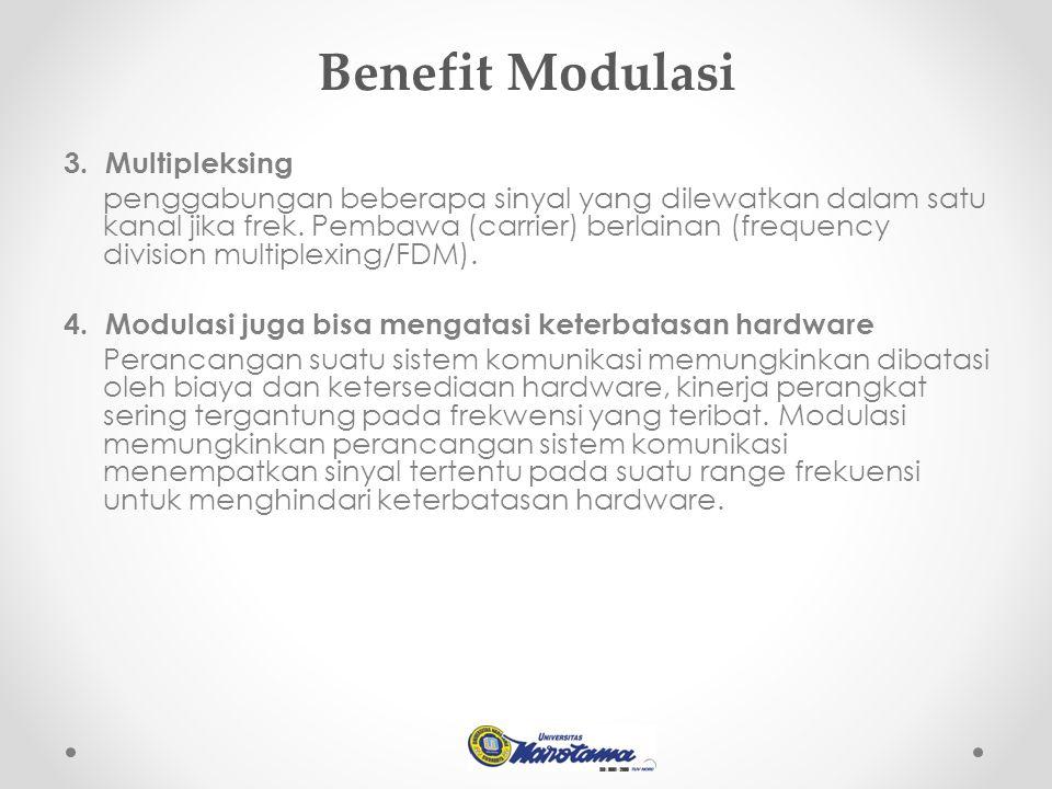 Benefit Modulasi 3.