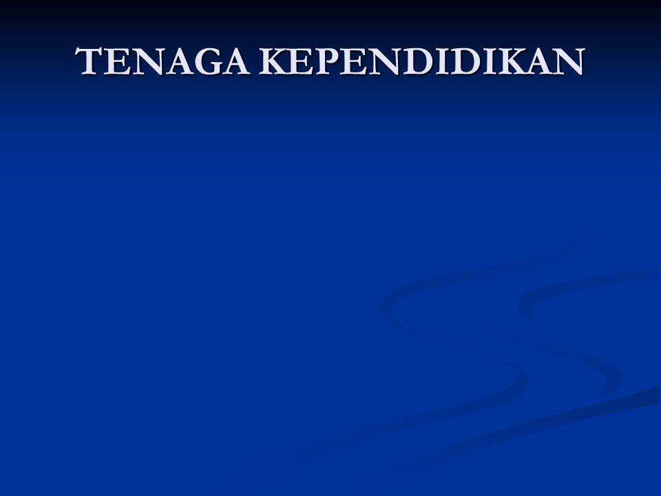 TENAGA KEPENDIDIKAN