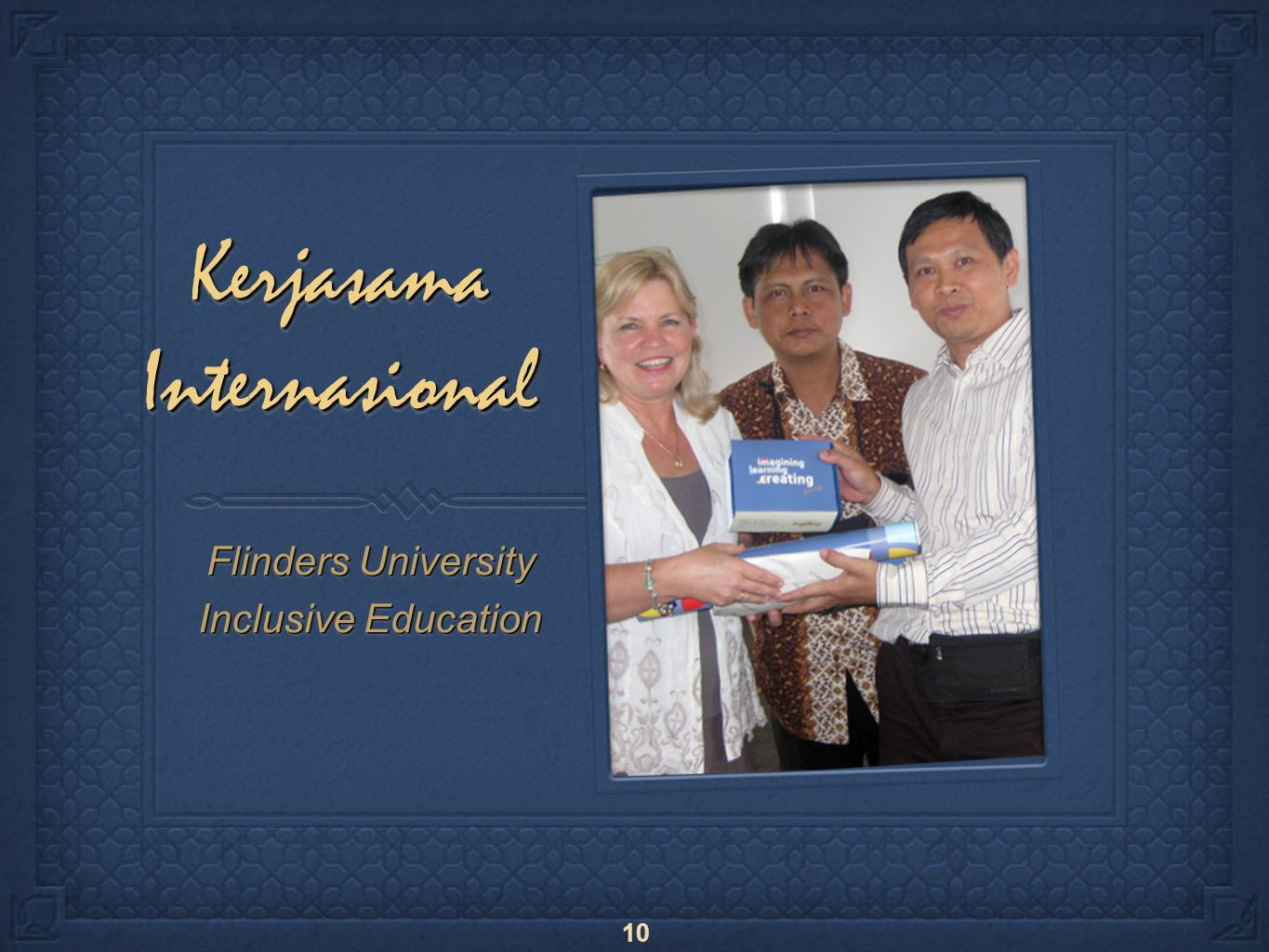 10 Kerjasama Internasional Flinders University Inclusive Education Flinders University Inclusive Education