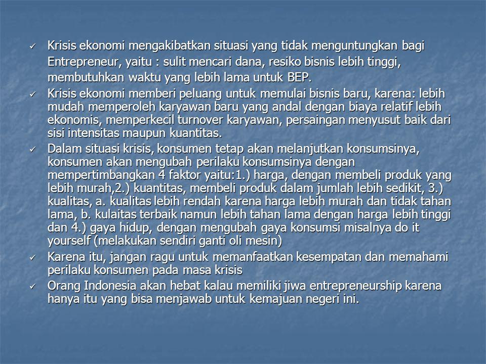 Jumlah pengangguran di Indonesia belum juga beringsut turun Di Jawa Timur,misalnya rata-rata per tahun diperkirakan ada 600.000 angkatan kerja baru tetapi ironisnya hanya 20-30% saja yang terserap di sektor formal sedangkan sisanya terpaksa bekerja di sektor informal atau bahkan sama sekali tidak bekerja Namun… Menko Perekonomian (Budiono) menargetkan angka pengangguran bisa ditekan hingga 5% pada tahun 2009