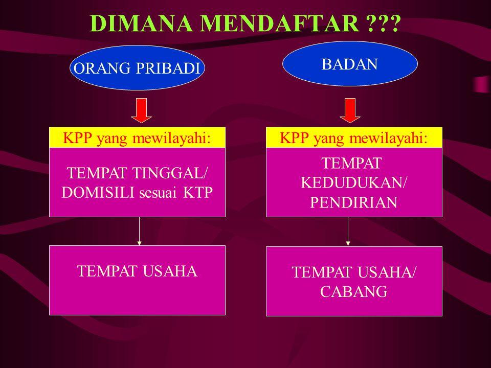 P T K P (penghasilan tidak kena pajak) Uraiansetahunsebulan WP sendiri Status Kawin Istri penghasilan digabung (istri bekerja) Tanggungan (max.