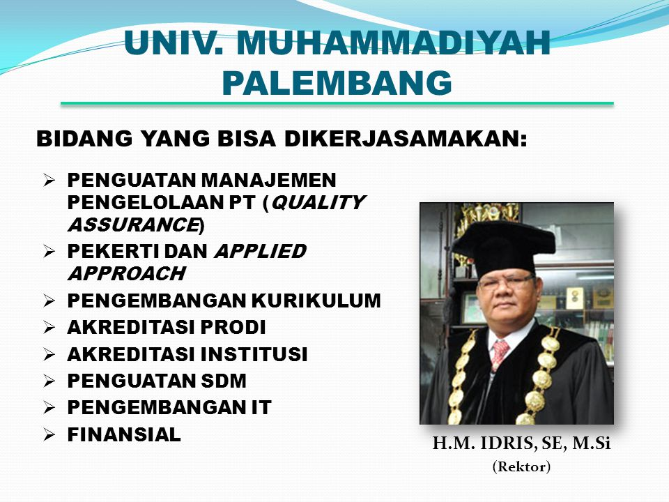 UNIV.MUHAMMADIYAH PALEMBANG H.M.