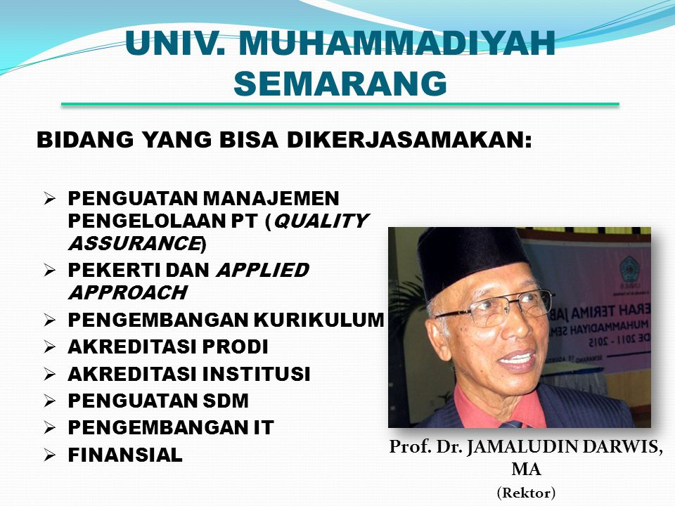 UNIV.MUHAMMADIYAH SEMARANG Prof. Dr.