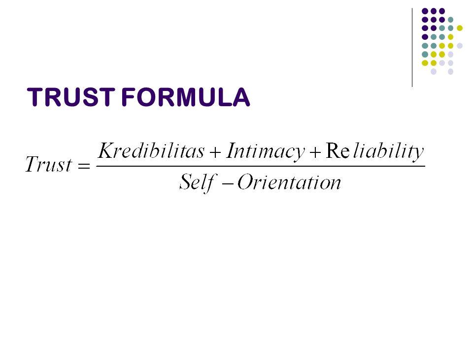 TRUST FORMULA