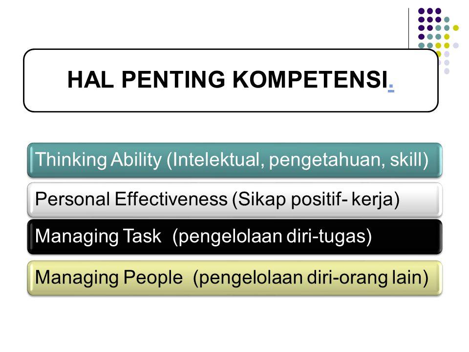 HAL PENTING KOMPETENSI..
