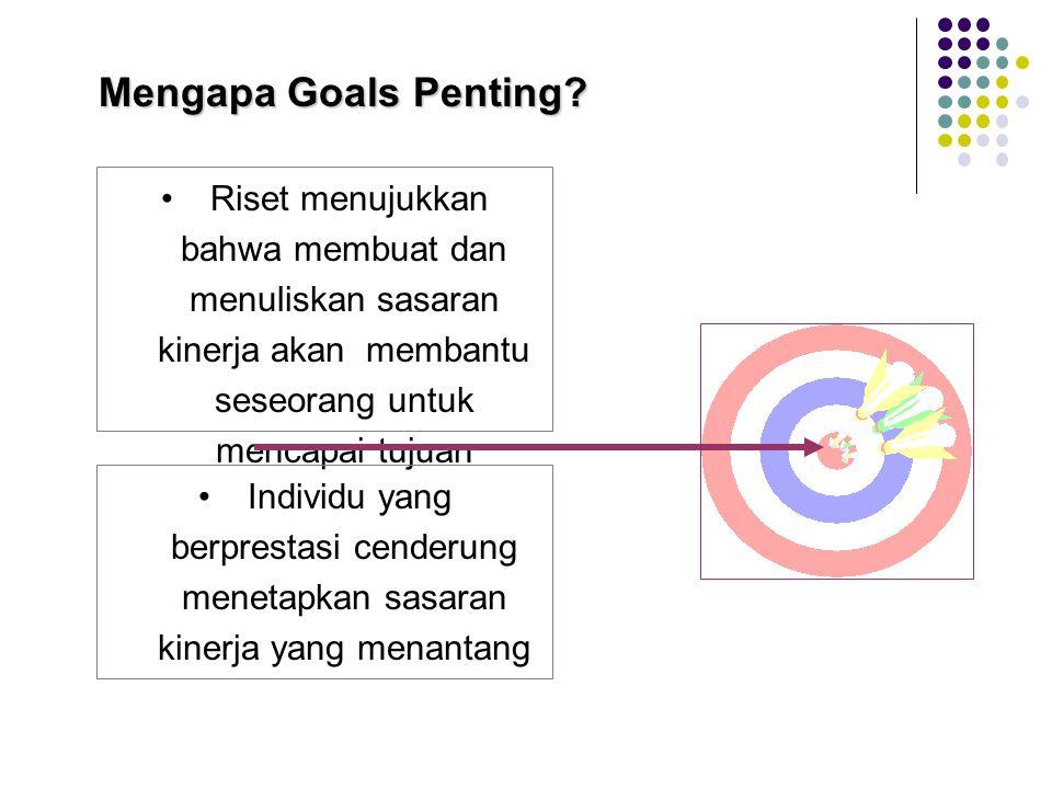 Mengapa Goals Penting.