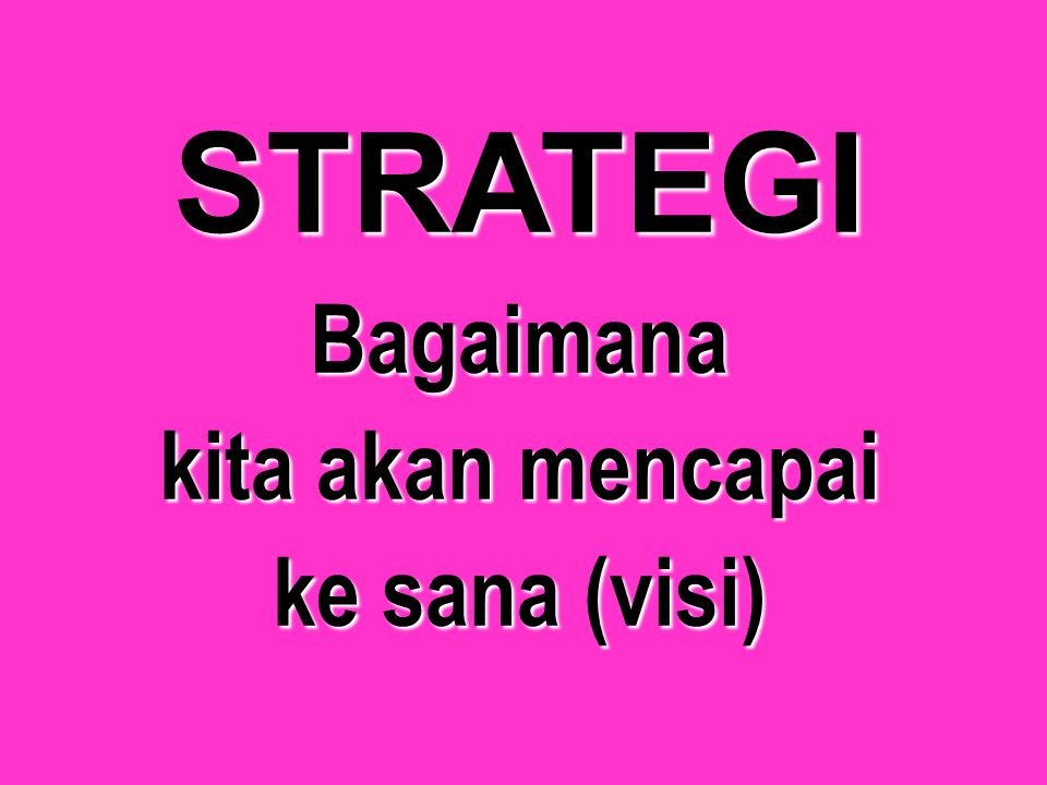 MISI Apakah yang ingin dilakukan oleh organisasi bisnis dan bagaimana organisasi bisnis tersebut menyusun perencanaan untuk melaksanakan apa yang ingi