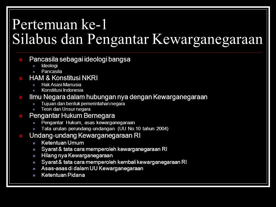 Pembaharuan sistem Kewarganegaraan Indonesia menganut asas Ius Sanguinis Dwi Kewarganegaraan  satu kewargenagaraan sejak masa pemerintahan B.J.