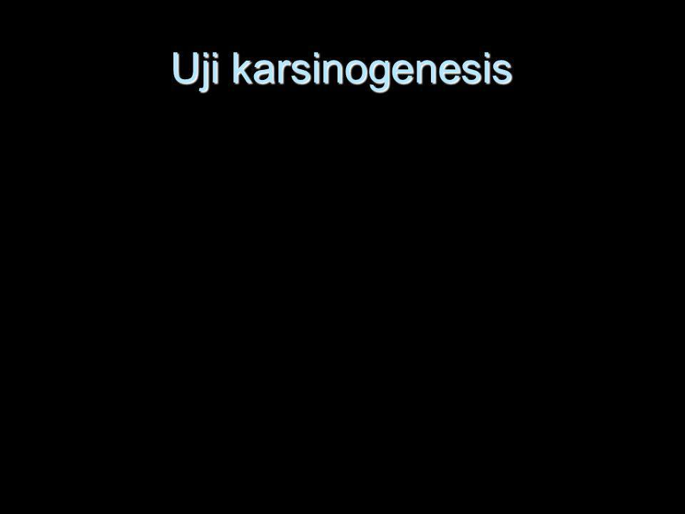 Uji karsinogenesis