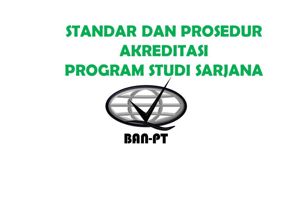 STANDAR AKREDITASI 2-Sep-14