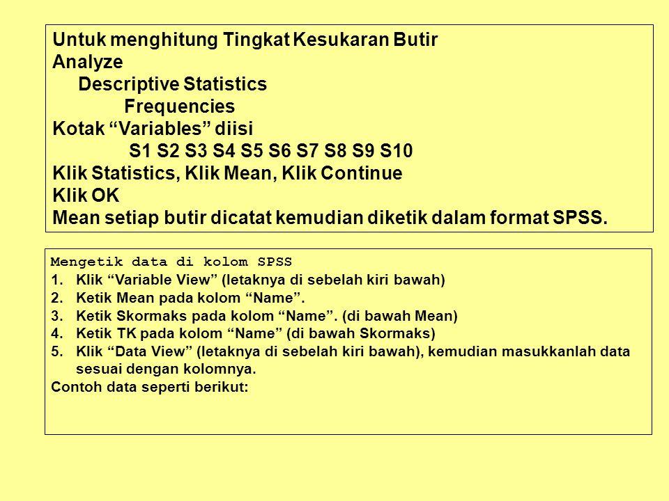 Jumlah S1 Pearson correlation Sig (2-tailed) N.976**.004 5 S3 Pearson correlation Sig (2-tailed) N.972**.001 5 S8 Pearson correlation Sig (2-tailed) N.933*.021 5 S10 Pearson correlation Sig (2-tailed) N.940*.018 5