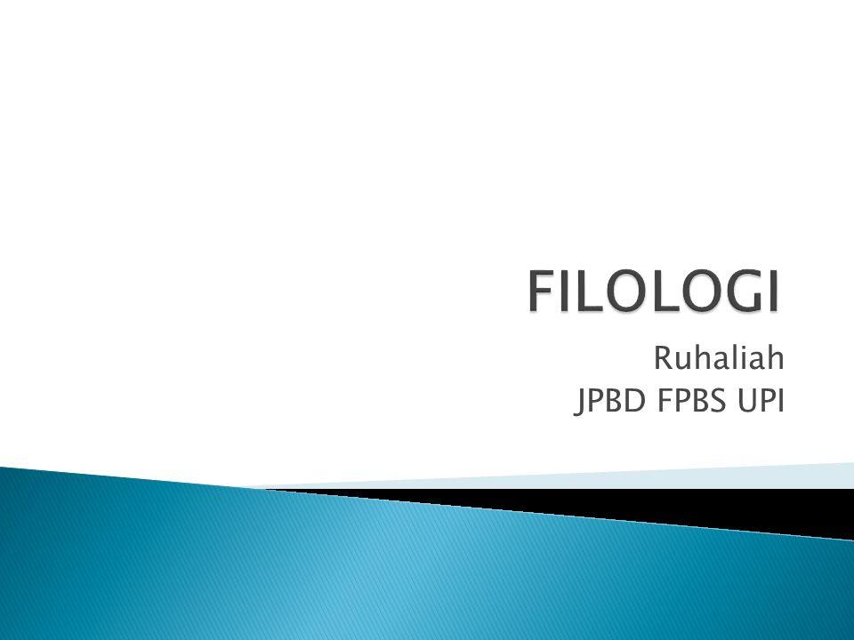 Ruhaliah JPBD FPBS UPI