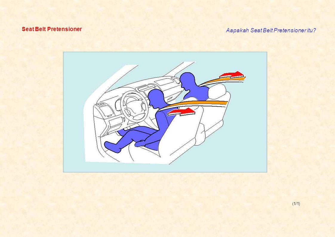 (1/1) Seat Belt Pretensioner Aapakah Seat Belt Pretensioner itu?