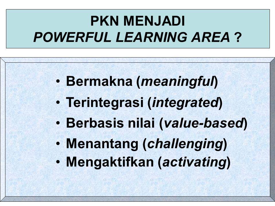 PELAKSANAAN PBM TIDAK MENGARAH PADA MISI SEBAGAIMANA SEHARUSNYA Pembelajaran dan penilaian lebih menekankan pada dampak instruksional yang menekankan