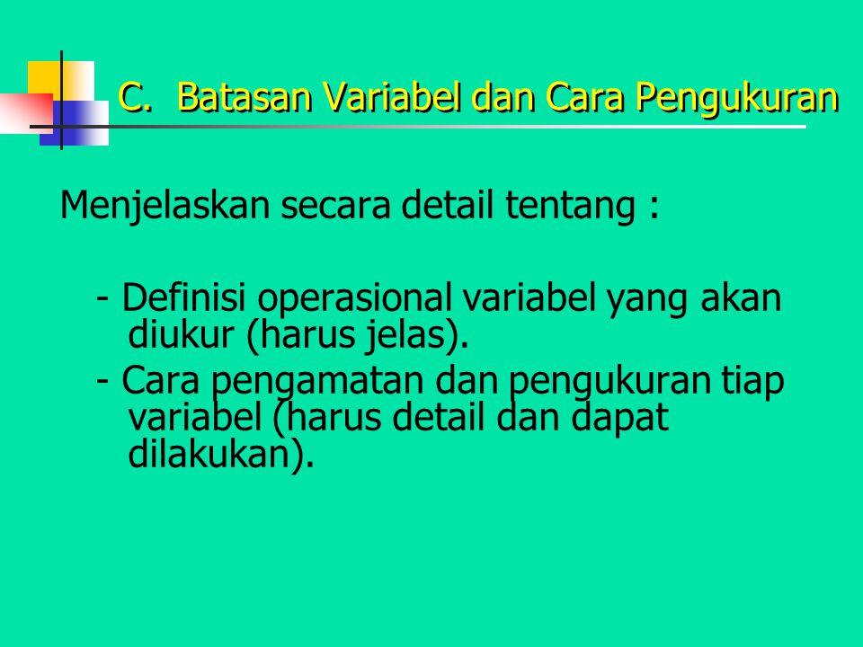 Types of variables Explanatory Dependent variables Independent variables Variabel Kuantitatif dan Kualitatif PENGARUH HUBUNGAN