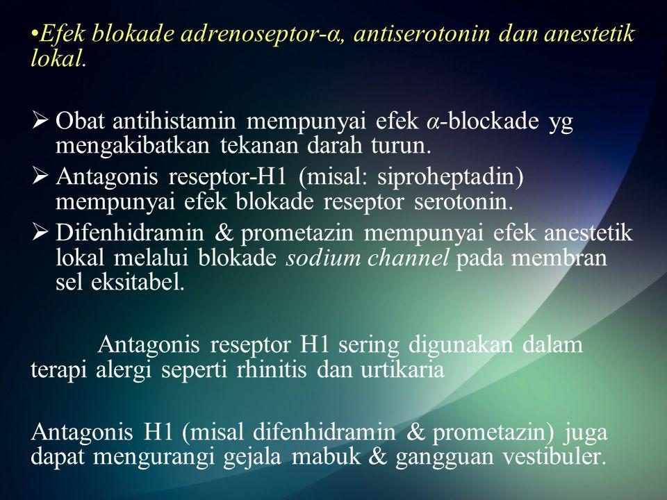 Common decongestants –Pseudoephedrine (Sudafed) –Tetrahydroziline (Visine) –Oxymetazoline (Afrin) 30