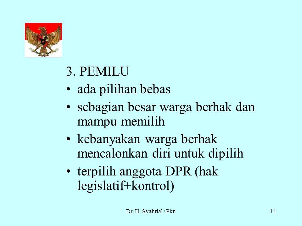 Dr.H. Syahrial / Pkn10 2.