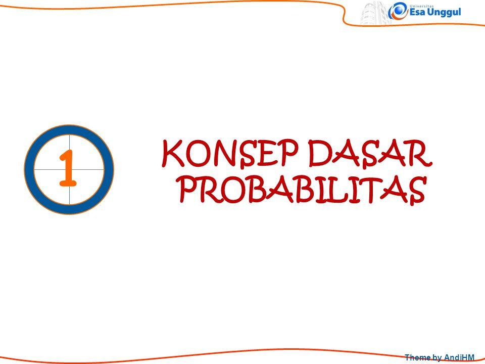 Theme by AndiHM KONSEP DASAR PROBABILITAS 1