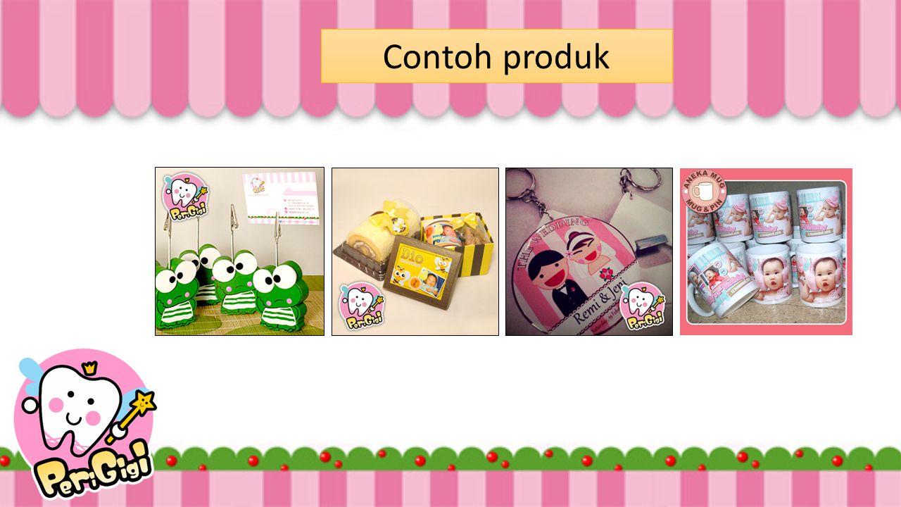 Contoh produk