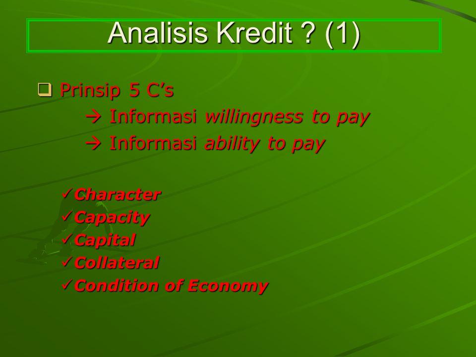 Analisis Kredit .(2) Analisis Kredit .