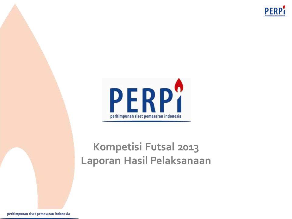 Kompetisi Futsal 2013 Laporan Hasil Pelaksanaan