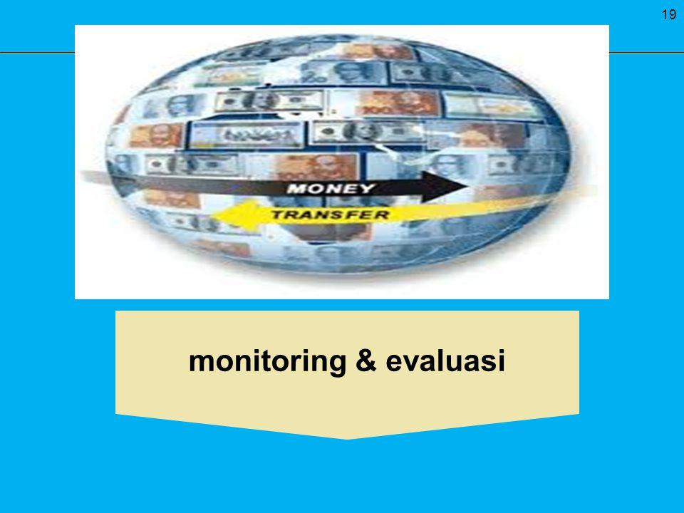 19 monitoring & evaluasi
