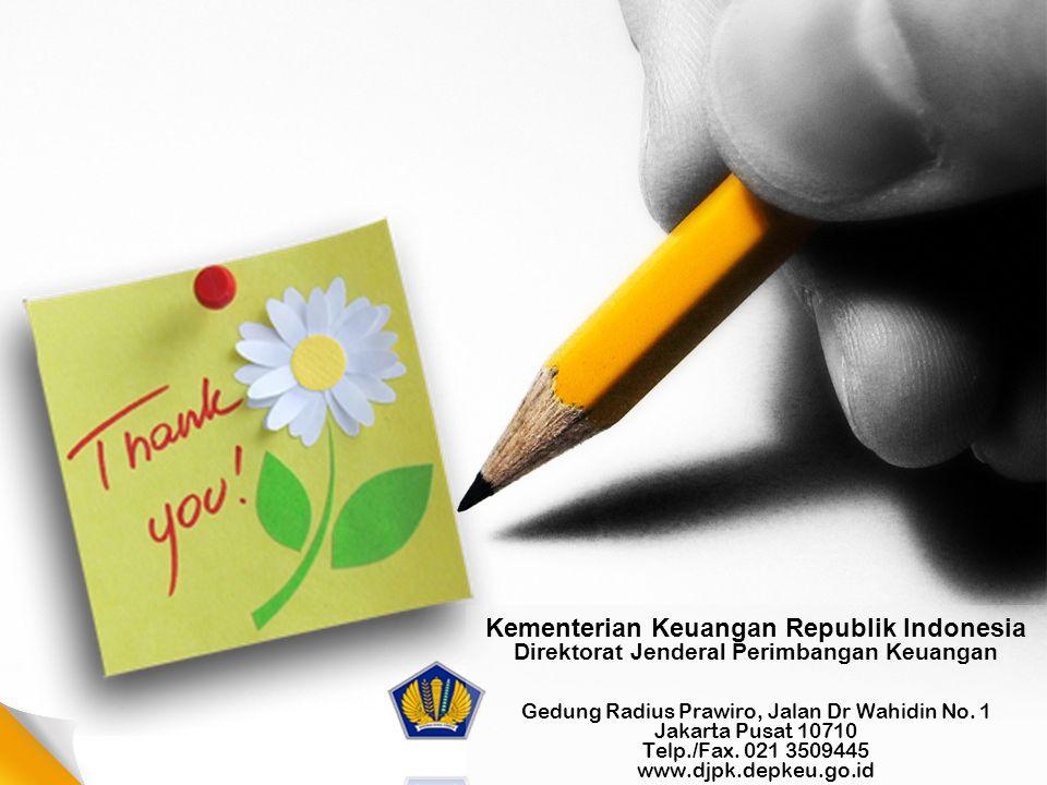 26 Kementerian Keuangan Republik Indonesia Direktorat Jenderal Perimbangan Keuangan Gedung Radius Prawiro, Jalan Dr Wahidin No. 1 Jakarta Pusat 10710