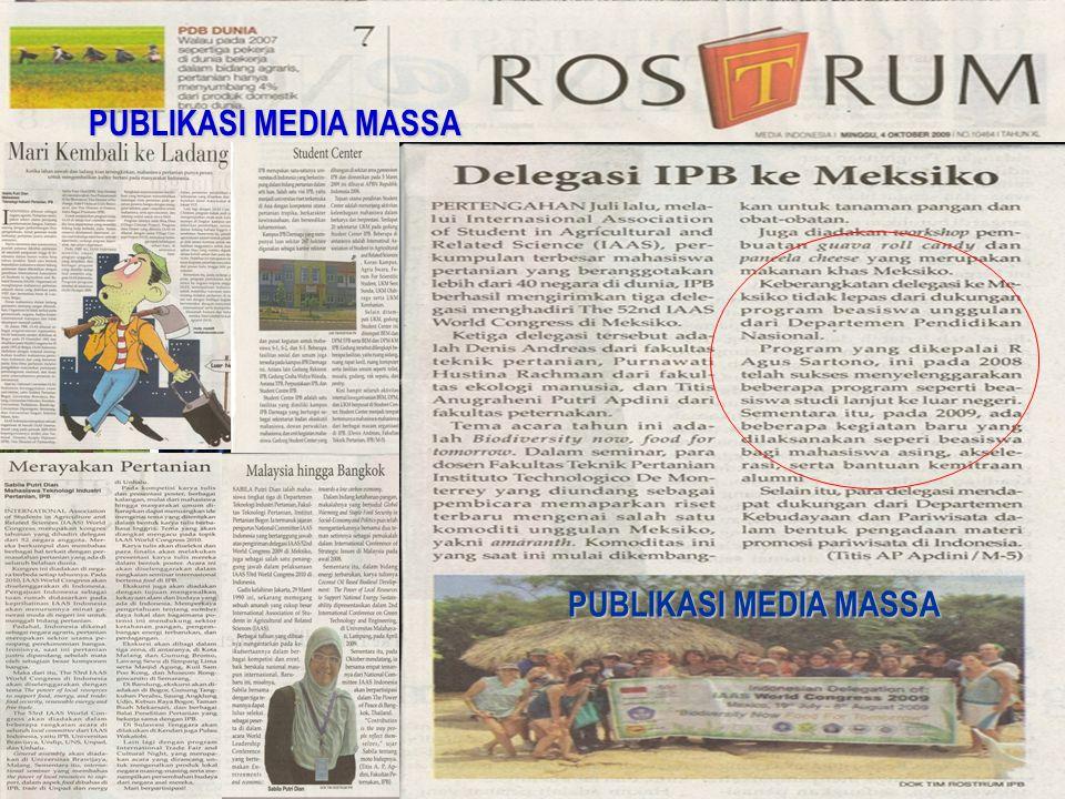 PUBLIKASI MEDIA MASSA