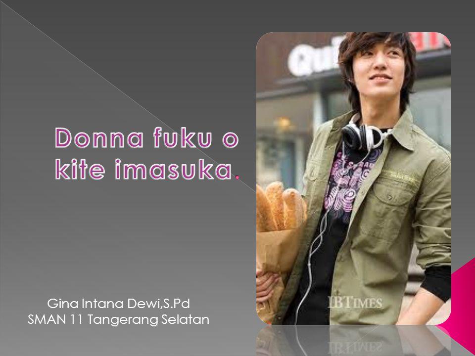 Gina Intana Dewi,S.Pd SMAN 11 Tangerang Selatan