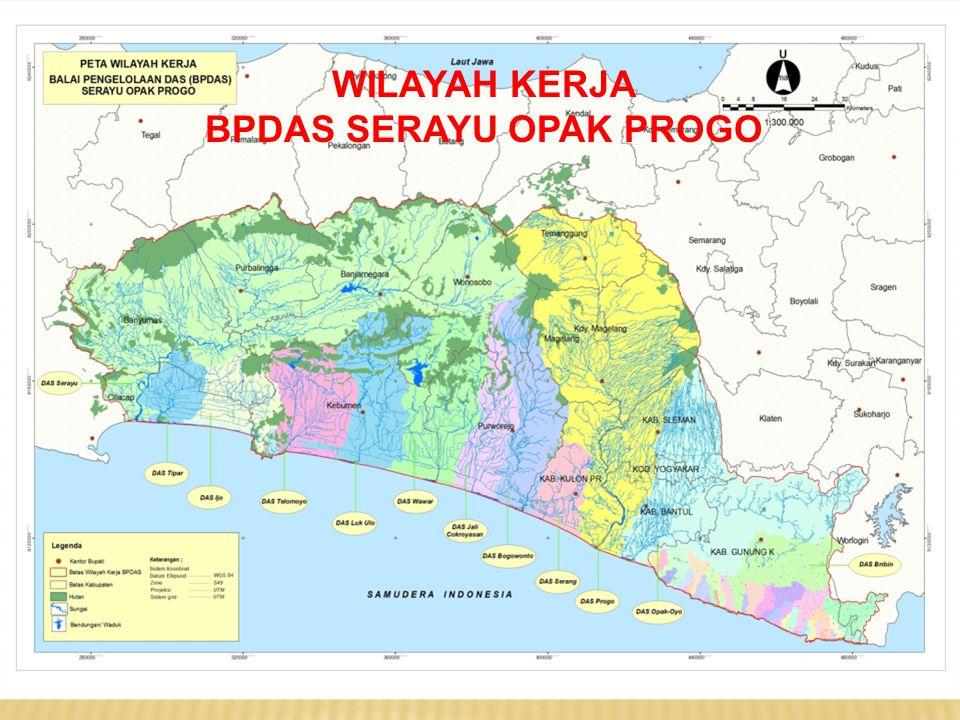 WILAYAH DAS SERAYU OPAK PROGO  JUMLAH DAS DI INDONESIA : 3.266 DAS (PERMENHUT NO.