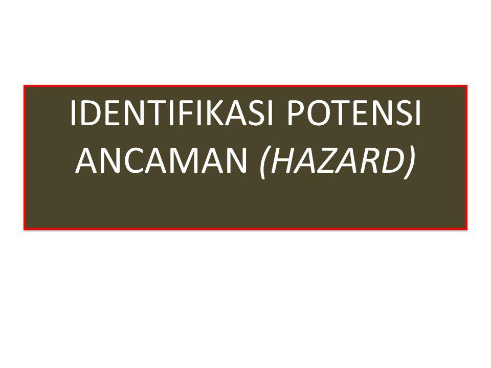 IDENTIFIKASI POTENSI ANCAMAN (HAZARD)