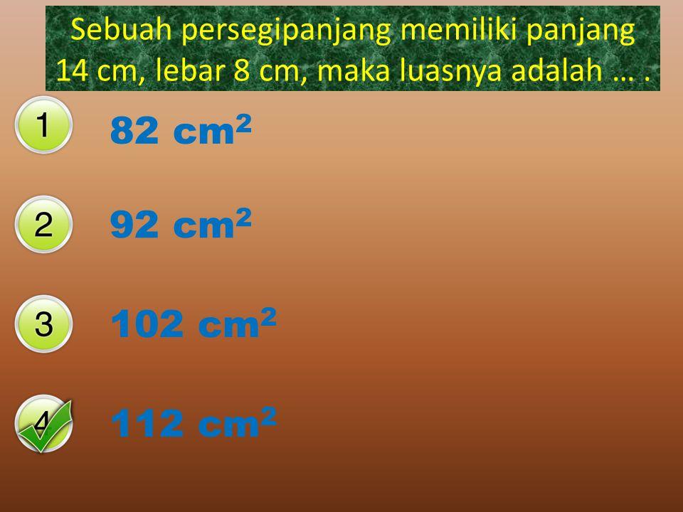Jajar genjang Trapesium Persegi panjang Layang-lanyang Bangun datar yang mempuyai ciri-ciri : Segiempat, dua pasang sisi sama panjang, sisi yang berha