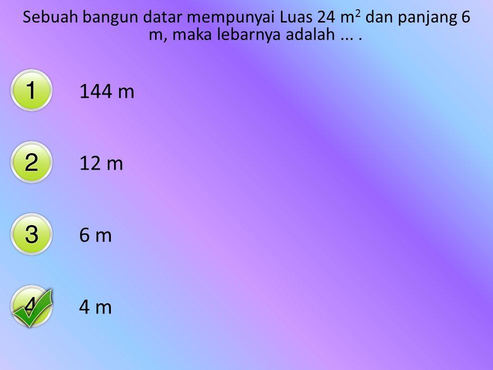 82 cm 2 92 cm 2 102 cm 2 112 cm 2 Sebuah persegipanjang memiliki panjang 14 cm, lebar 8 cm, maka luasnya adalah ….