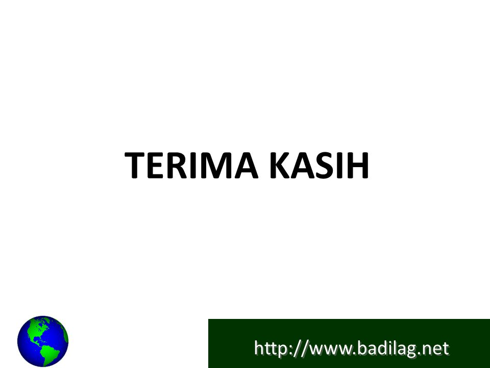 http://www.badilag.net TERIMA KASIH