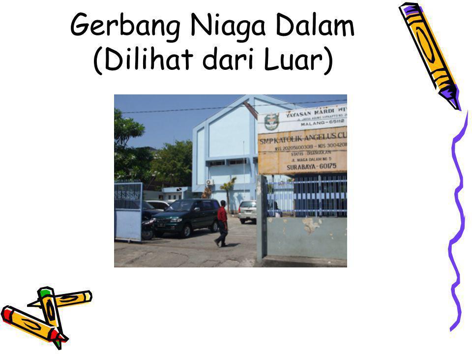 Gerbang Niaga Dalam (Dilihat dari Luar)