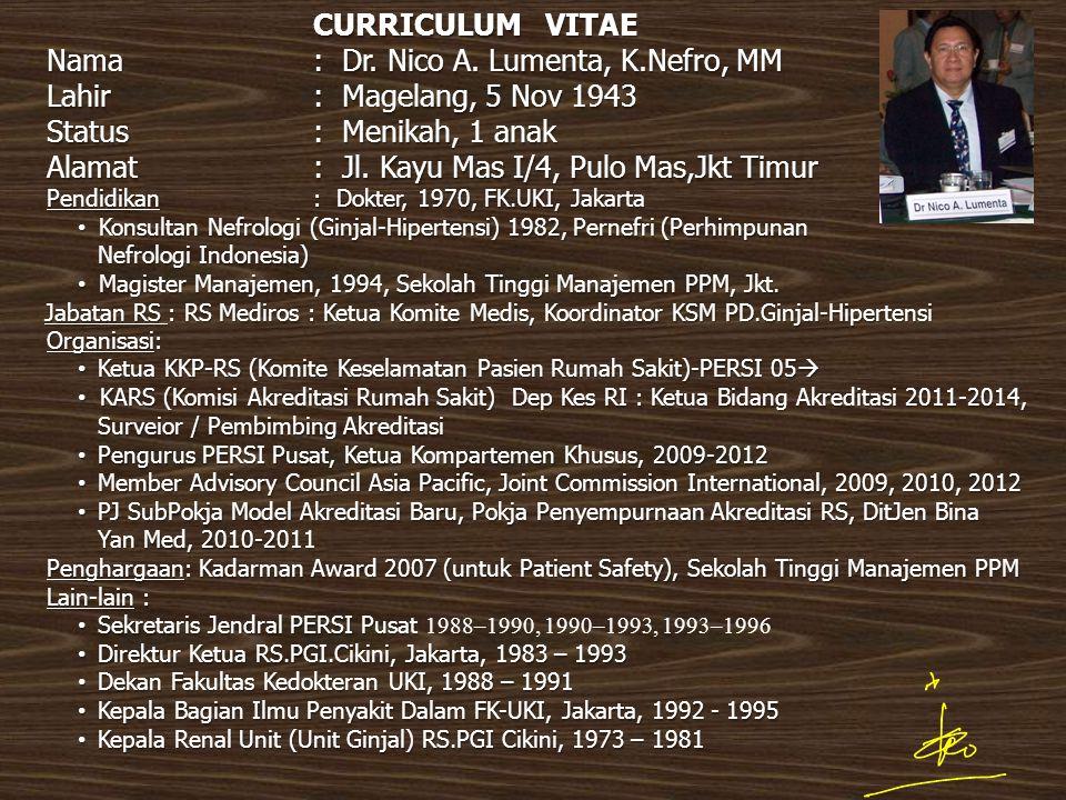 ISI BAHASAN Komite Medik  dalam Permenkes 755/2011  dalam Standar Akreditasi Rumah Sakit v.2012 Kredensial Mutu Profesi Etika dan Disiplin Profesi Staf Medis