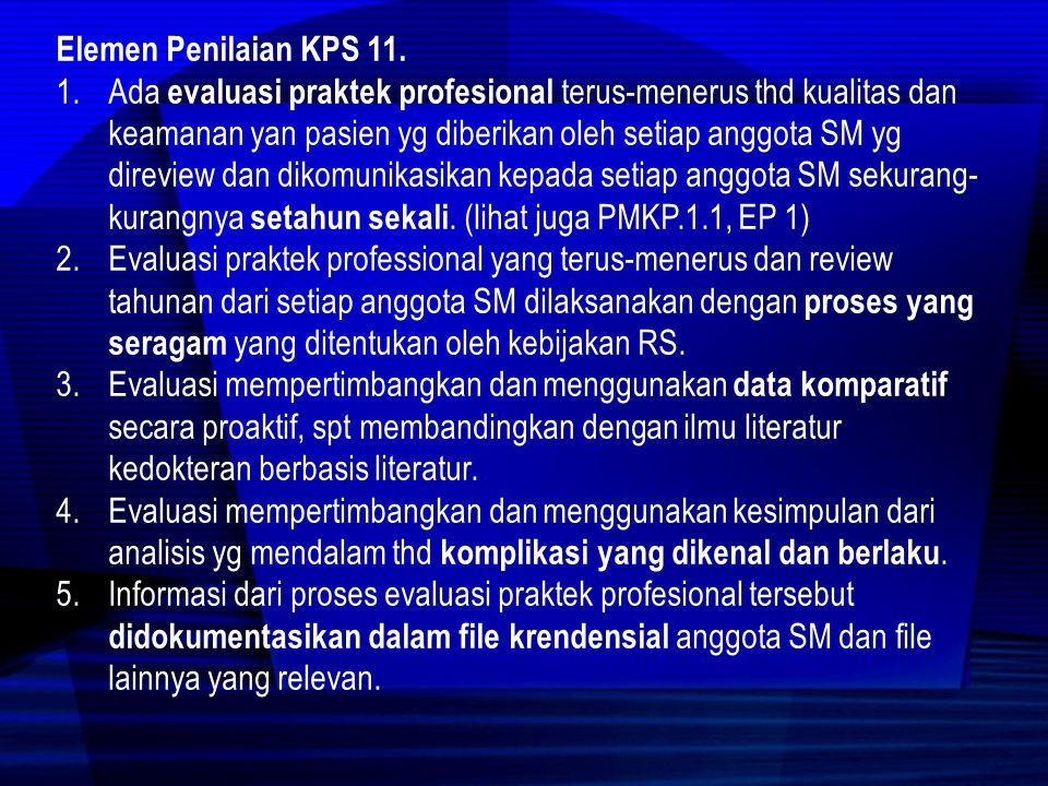Standar KPS 1.1.