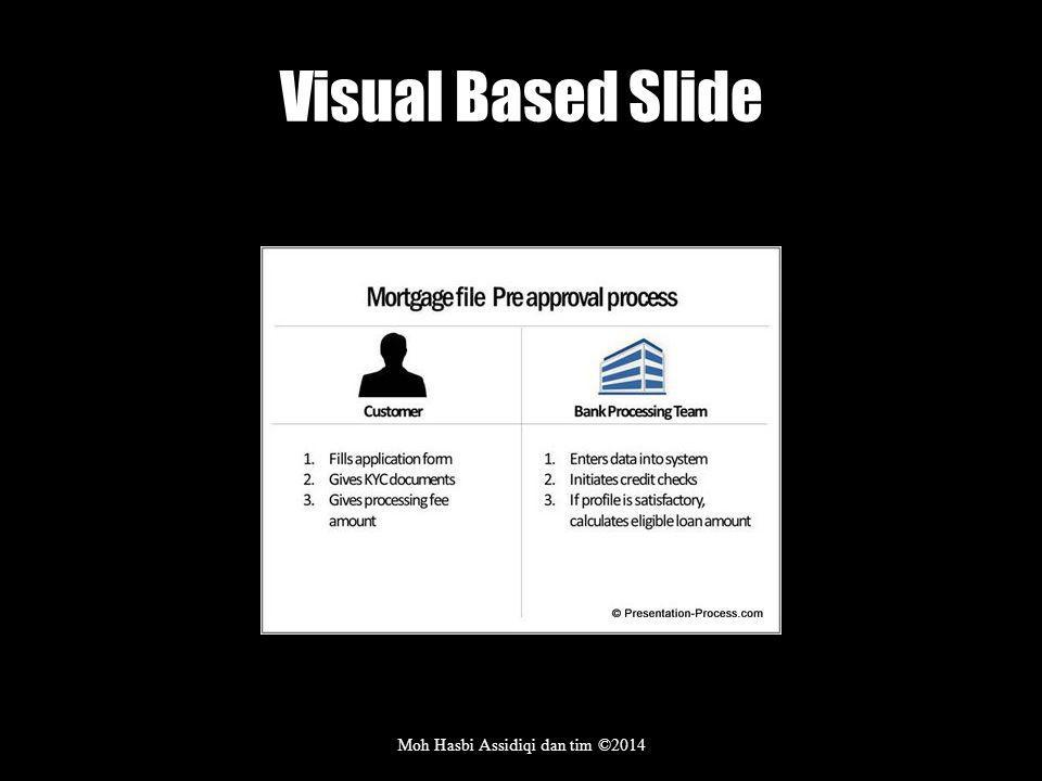 Visual Based Slide Moh Hasbi Assidiqi dan tim ©2014