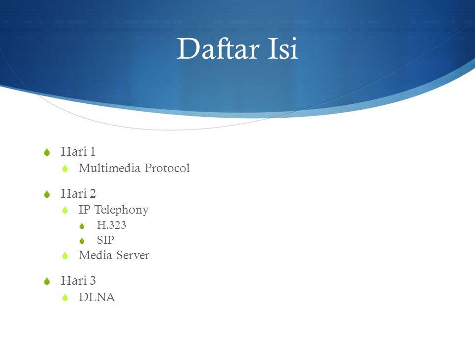  Multimedia Protocol Hari - 1