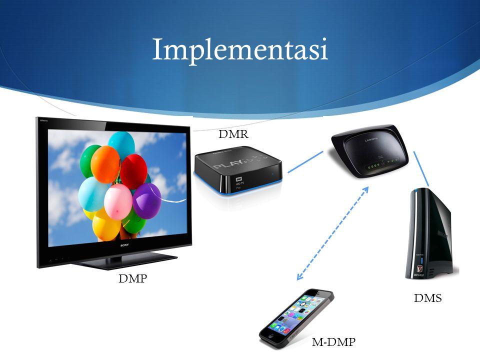 Implementasi DMS DMR DMP M-DMP