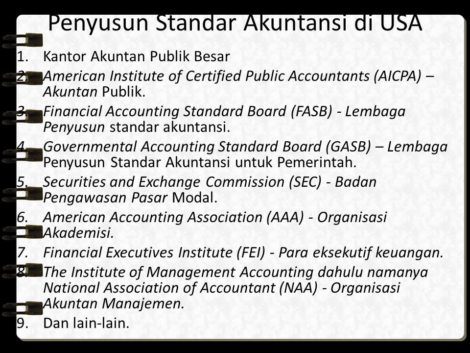 Kantor Akuntan Publik Big 8 Arthur Andersen & Co Arthur Young & Co Coopers and Lybrand Ernst and Whinney Price Waterhouse & Co Deloitte, Haskins, and Sells Peat Marwick, Mitchell & Co Touche Ross & Co